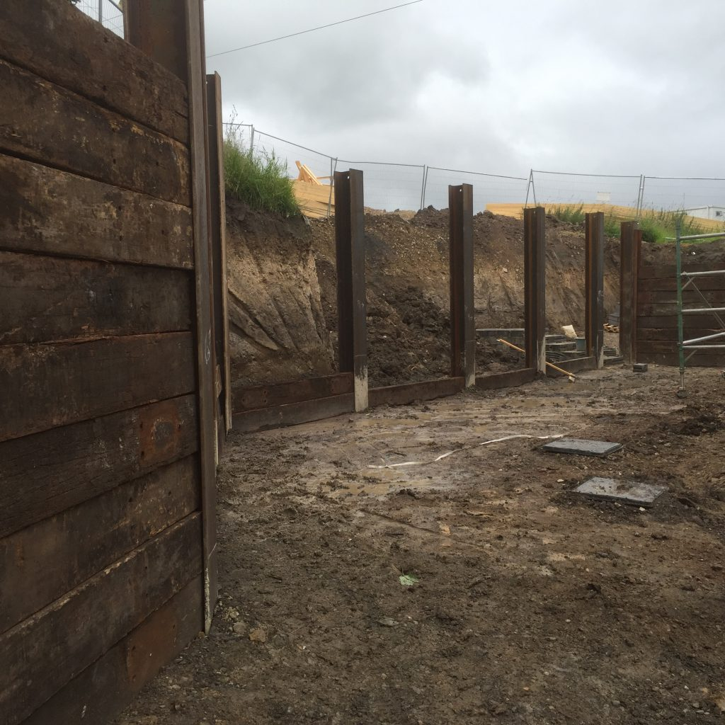 King Post Retaining Walls Steel Piling Solutions